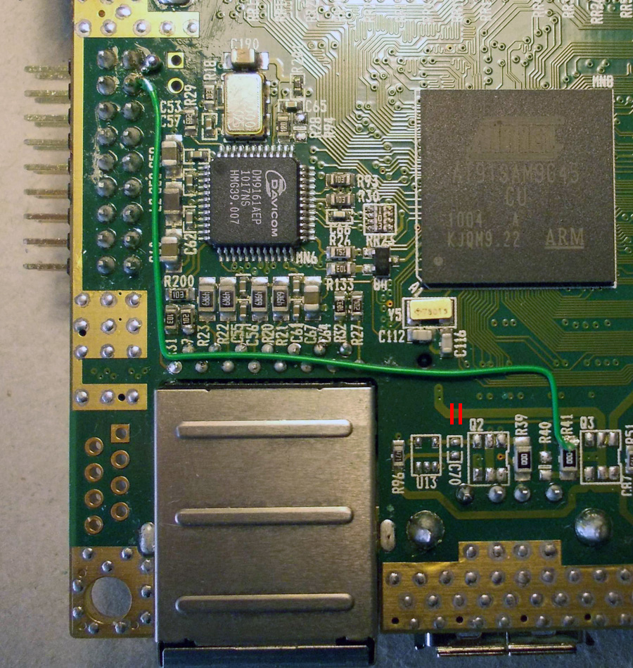 File:Wire-soldered-PCB jpg - Low cost, low power, android ARM system